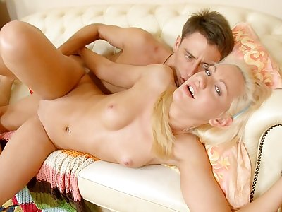 Real fucking video with the hard anal sex